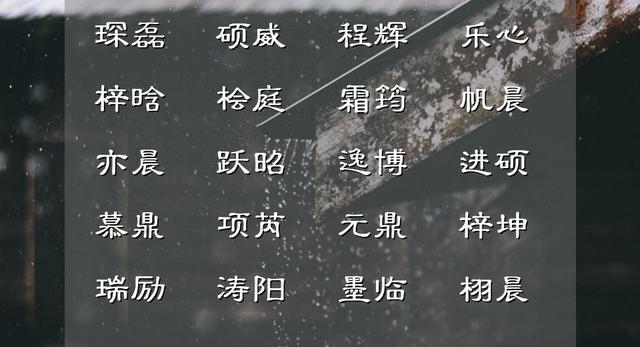 汉字这么多,如何选择合适的字为男孩起名?图2